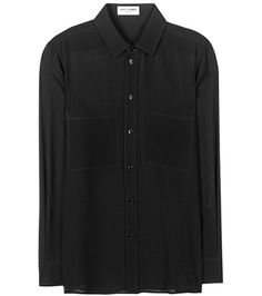 Saint Laurent Silk Shirt | MYTHERESA USA saved by #ShoppingIS