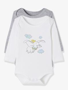 Lot de 2 bodies Disney® motif Dumbo assortis - Douceur et poésie pour ce  joli abb0bd60ab3