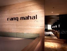 rang mahal (fine dining indian restaurant) in singapore