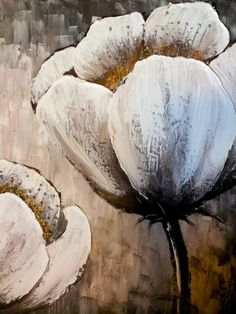 sold original textured flower abstract contemporary abstract arcrylic painting on canvas white flowers 4 by celina yuejin lee # Texture Painting, Painting & Drawing, Watercolor Paintings, Art Prints For Sale, Canvas Artwork, Canvas Paintings, Flower Art, Flower Canvas, Painting Techniques