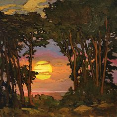 Jan Schmuckal - Work Zoom: Sunset On The Coast