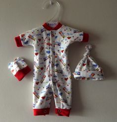 CUTE & TINY 1-2LB premature baby clothing by Nanny Nicu TM  at Cheeky Chums online