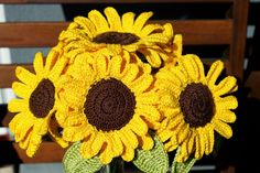DecorAnna: szydełkowe kwiaty / crochet flowers