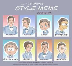 Kurt Hummel Style Meme - Color by yu-oka on DeviantArt