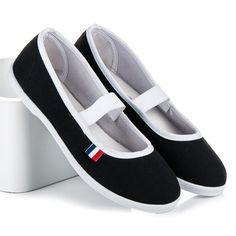 Dámske tenisky s gumou CZESZKA/B. Mary Janes, Sneakers, Shoes, Fashion, Tennis, Moda, Slippers, Zapatos, Shoes Outlet