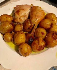 Κοτόπουλο στην γάστρα με μέλι πορτοκάλι !!! ~ ΜΑΓΕΙΡΙΚΗ ΚΑΙ ΣΥΝΤΑΓΕΣ 2 Yams, Greek Recipes, Allrecipes, Food And Drink, Potatoes, Cooking Recipes, Chicken, Fruit, Vegetables
