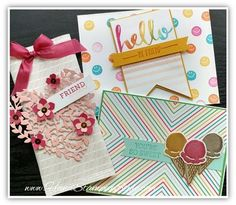 catalog kickoff make and takes bloomin love, hello, honeycomb happiness