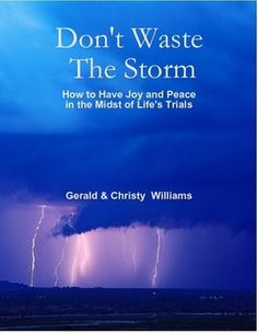Get this Best Seller at Amazon.com./  Barnes And Nobles Don't Waste The Storm, 2nd Ed!
