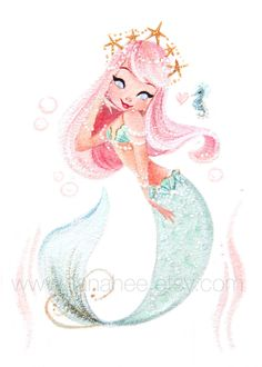 Pastel Princess fine art print by LianaHee on Etsy https://www.etsy.com/listing/386354790/pastel-princess-fine-art-print