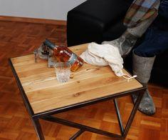 Couchtisch VENLY I Massivholztischplatte