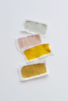 colorful paint dye swatches