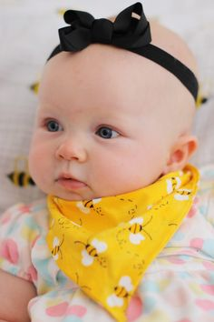 no sew bandana bib #diy #baby #nosew
