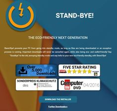 Stand-Bye Gives You Better Standby Control in Windows #software #app