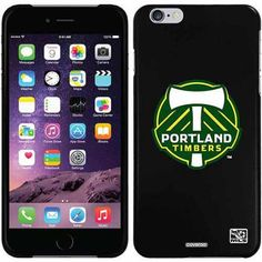 Portland Timbers Emblem Design on Apple iPhone 6 Plus Thinshield Snap-On Case