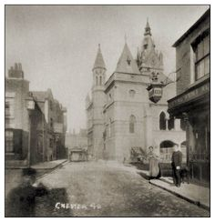 Chester Cheshire, Old Pub, Uk Photos, Pinterest For Business, Old Postcards, Has Gone, About Uk, The Row, Europe