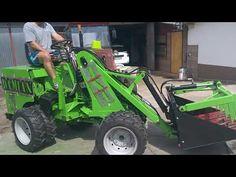 Mini ładowarka SPRZEDAM tel 782 282 926 Film nr 2 - YouTube Homemade Tractor, Tractor Attachments, Tractors, Monster Trucks, Film, Youtube, Movie, Film Stock, Cinema