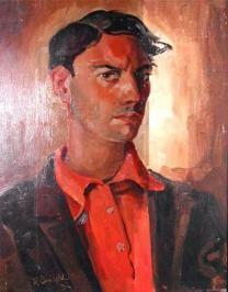 Hub Levigne ( Meerssen 1905-Sittard 1989) Painting, Paintings, Draw, Drawings