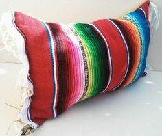 sarape pillow