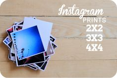 Good info about Instagram prints.