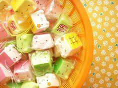Kawaii Cute Hannari Tofu Petit Mascot Strap Ornament Japan by Kawaii Japan, via Flickr