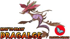 Learn How To Draw Dragalge Pokemon ** Leave the comments for your request about the news lesson! Please help our channel grow by giving LIKES, sharing with f. Pokemon Ash Greninja, Draw Pokemon, Pokemon Charmander, Pokemon Sun, Pokemon Cards, Drawing Animals, Animal Drawings, Drawing Tutorials, Art Tutorials