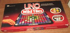 Vintage 1982 iGi UNO WILD TILES Board Game 99% COMPLETE Great Used Number 1 Fun in Toys & Hobbies, Games, Board & Traditional Games, Contemporary Manufacture | eBay