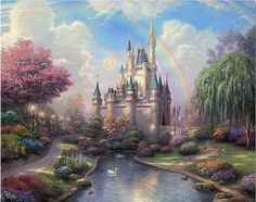 Dream Castle DIY Oil Painting - Paint by Numbers
