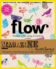 Flow is a magazine for paper lovers. We are all about positive psychology, crafting, mindfulness, and not being perfect. Flow helps readers to reflect in various ways on their busy yet happy lives. Milk Magazine, Magazine Art, Phone Stickers, Window Stickers, Make Your Own Stamp, Paper Crafts Magazine, How To Make Purses, Monthly Magazine, Do It Yourself Fashion