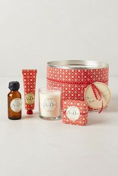 Snow Drop Holiday Gift Set