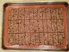 Homemade Lara Bars. Awesome blog for a plant based diet.