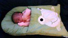 DIY Baby Pillowcase Sleeping Bag Tutorial(Video)
