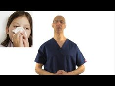Instant Relief Point to Unblock a Blocked Stuffy Nose - Dr Mandell - YouTube