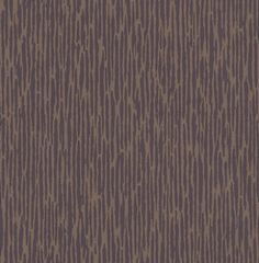 Cameo Damson (W0011/07) - Clarke & Clarke Wallpapers - A stylish stripe design in a rigid effect. Showing in deep purple and metallic gold. Other colour ways available. Please request a sample for true colour match. Paste-the-wall product.