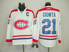 Montreal Canadiens 21 Brian GIONTA Road Jersey