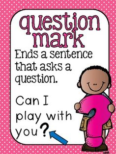 This set contains 6 x 11 Posters for basic punctuation. These posters were created for my Kindergarten classroom and therefore only state the most basic usage of each mark. 2nd Grade Ela, 2nd Grade Writing, Grade 2, English Worksheets For Kids, 2nd Grade Worksheets, Teaching English Grammar, English Language Learning, Education English, Elementary Education
