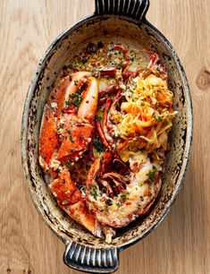 An exclusive Richard Corrigan lobster recipe, straight from his kitchen at Daffodil Mulligan. It takes a little effort to make, but the results are seriously impressive Portuguese Recipes, Italian Recipes, Portuguese Food, Italian Foods, Gourmet Recipes, Cooking Recipes, Gourmet Foods, Lobster Thermidor, Lobster Recipes