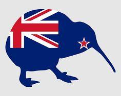New Zealand - Auckland (KareKare), Wellington, Picton, ChristChurch, Oxford… Capital Of New Zealand, New Zealand Flag, Moving To New Zealand, New Zealand Houses, Maori Tattoos, Key Tattoos, Indian Tattoos, Skull Tattoos, Foot Tattoos