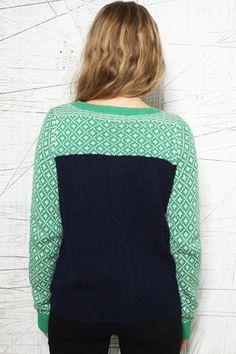 Cooperative Mix Stitch Pullover