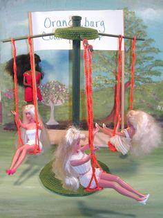 Häkeln Sie Mode Puppe Barbie Pattern - #355 SWING auf das COUNTY FAIR
