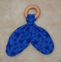 Organic teething ring with bamboo, Leonora