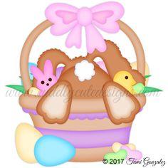 Basket Diving Bunny