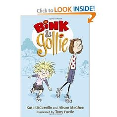 I psychoanalyze Bink and Gollie's relationship while my daughter loves the kooky stories.