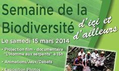 Semaine de la biodiversité à la Maison du Val Caron : Exposition, jeux et débats. Du 12 au 15 mars 2014 à courbevoie.