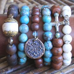 For Giving Works bracelets - wear in bunches or as singles