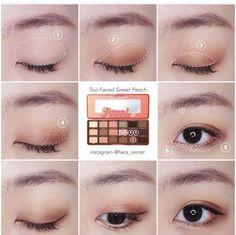 Korean makeup tips! Beauty Advice For Novices And Experts Alike Korean Makeup Tips, Korean Makeup Look, Korean Makeup Tutorials, Asian Eye Makeup, Eyeshadow Tutorials, Makeup Inspo, Makeup Inspiration, Beauty Makeup, Hair Makeup