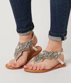 Naughty Monkey Crystal Pop Sandal - Women's Shoes   Buckle