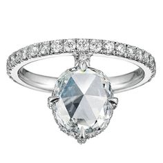 There's nothing ordinary about this gorgeous engagement ring.