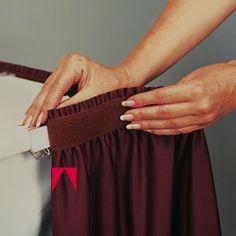 Table Skirts On Pinterest Table Skirts Secret Storage