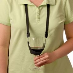 Wine Glass Holder - Lanyard Necklace