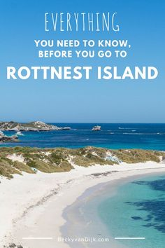 Rottnest Island is situated off the west coast of Australia, just half an hour by ferry from Perth its a must see whilst visited the region. I recommend allowing at least 3 nights on the island to enjoy it, in this post I share everything else you need to know before you go to Rottnest Island! Read the full post on http://BeckyvanDijk.com
